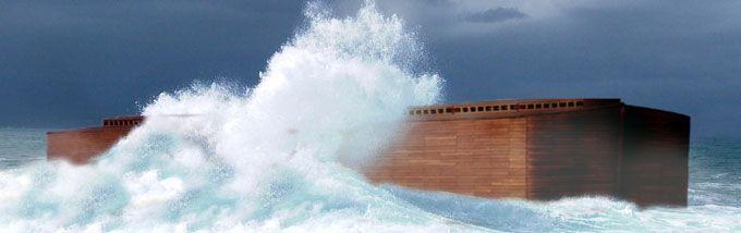 Noetova barka, potop